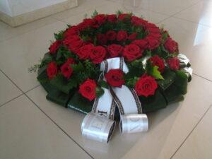 Oprawa ceremonii pogrzebowej Kocel